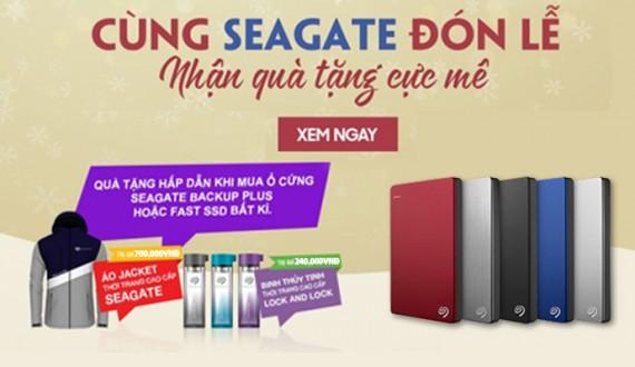 Cùng Seagate đón lễ - Nhận quà tặng cực mê