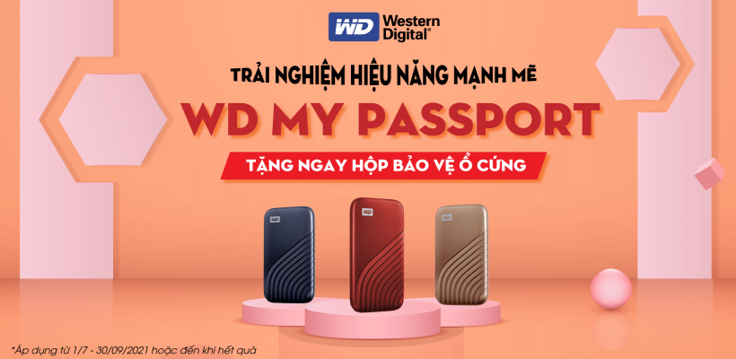 RINH Ổ CỨNG WD