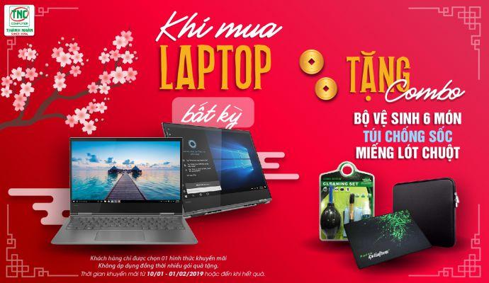 Mua laptop bất kì nhận ngay bộ