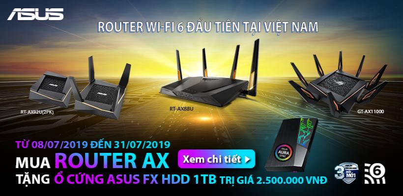 Mua router asus dòng ax nhận ngay
