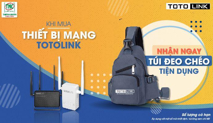 Khi mua thiết bị mạng totolink -
