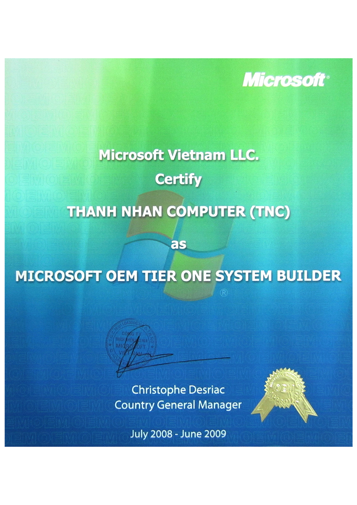 Microsoft parner