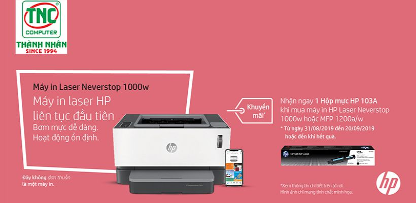 Neverstop laser printers